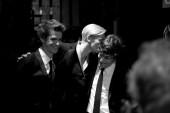 Tilda Swinton, Andrew Garfield and Jesse Eisenberg chat backstage