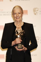 Actress Vanessa Redgrave acepts the pretigious Academy Fellowship for he oustanidng contribution to film (BAFTA/Richard Kendal).