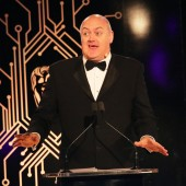 Dara Ó Briain hosting the Games Awards