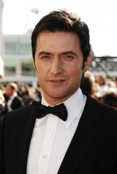 Spooks and Robin Hood star, Richard Armitage, arrives on a sunny red carpet at the Televison Awards (BAFTA / Richard Kendal).