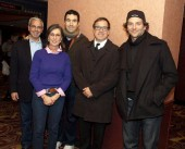 Moderator John Hadity, Producer Donna Giliotti, Producer Jonathan Gordon, Director David O. Russell and Bradley Cooper