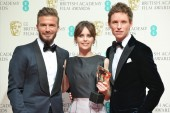 Outstanding British Film was won by The Theory of Everything. The BAFTA was presented by David Beckham, to Felicity Jones and Eddie Redmayne.