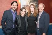 Director Peter Sollett, Ellen Page and Julianne Moore.