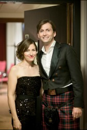 Kelly MacDonald and David Tennant