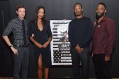 Topher Grace,Laura Harrier, Corey Hawkins, John David Washington