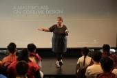 由BAFTA与施华洛世奇共同于香港举办的戏剧服装设计大师分享会现场照片。