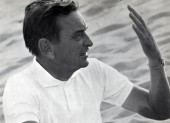Sir David Lean on the set of Lawrence of Arabia in 1962.