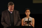 Event: Nominations Announcement for the EE British Academy Film Awards in 2016Date: Friday 8 January 2016Venue: BAFTA, 195 PiccadillyHosts: Stephen Fry, Gugu Mbatha Raw