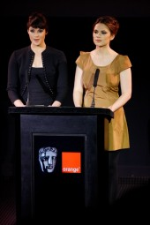 This year's nominations were announced by Bond girl Gemma Arterton and The Duchess star Hayley Atwell (BAFTA / Marc Hoberman)