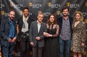 Ralph Fiennes, BAFTA New York CEO Julie La'Bassiere, Christoph Waltz, Barbara Broccoli. BAFTA New York Chair Luke Parker Bowles and Lea Seydoux.