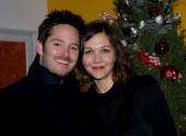 Director/Writer Scott Cooper and Maggie Gyllenhaal