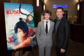 Art Parkinson and Travis Knight