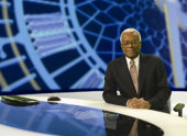 Sir Trevor has anchored every ITN News programme, from News at One, News at 5.40, News at 6.30 to the flagship and BAFTA Award-winning News at Ten. (Pic: ITV)