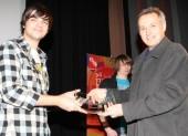 BBC Blast & BAFTA Screen-Skills Award finalist Sam Shatabi with BAFTA nominated DOP (for Skins) Nick Dance.