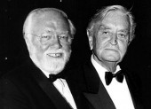 Lord Attenborough and Sir David Lean.