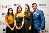 BAFTA Scholars Katie Leung, Jennifer Majka, Lauren Dark & Brian Falconer
