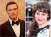 Luke Evans and Helen McCrory