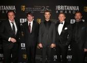 Quentin Tarantino, Will Wright, Matt Parker, Daniel Craig and Trey Parker.