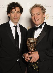 David Higgs, winner of the Photography and Lighting: Fiction award for Red Riding with Green Wing star Stephen Mangan