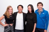Sanni McCandless, Jimmy Chin, E. Chai Vasarhelyi and Alex Honnold