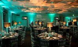 Event: BAFTA Film Gala Fundraising DinnerDate: Thurs 11 February 2016Venue: BAFTA, 195 PiccadillyHost: Rob Brydon-Area: BRANDING & SET UP