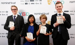 Event: BAFTA Young Game Designers AwardsDate: 25 July 2015Venue: BAFTA, 195 PiccadillyHosts: Ben Shires and Jane Douglas-Area: BRANDING BOARD