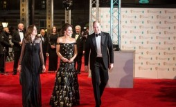 Event: EE British Academy Film AwardsDate: Sun 12th February 2017Venue: Royal Opera HouseHost: Stephen Fry-Area: Royal Rota