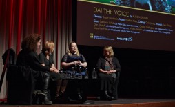 The BAFTA Rocliffe New Writing Forum for Children's media at 195 Piccadilly on Sat 27 September. Finalists Alison Down from Liverpool, Amanda Duke from Twickenham and John Hickman from North Shields had extracts from their scripts performed live by profe