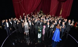 Event: EE British Academy Film AwardsDate: Sun 12th February 2017Venue: Royal Opera HouseHost: Stephen Fry-Area: Winners Group Shot