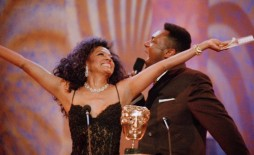 Event: British Academy Film & Television Awards Date: 29 Apri 1997Venue: The Royal Albert Hall, London Host: Lenny Henry