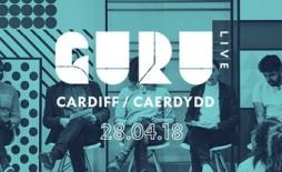 GURU LIVE Cardiff banner
