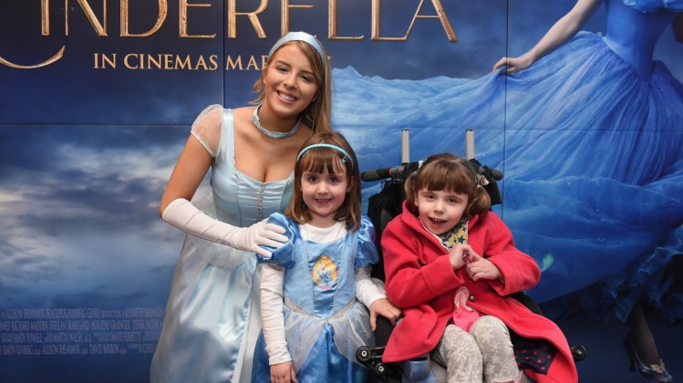BAFTA Children's Hospice Screening of Cinderella, courtesy of Disney Pictures, for the famililes of Northern Ireland Children's Hospice. In association with Cinemagic, at ODEON Belfast on 29 March 2015.