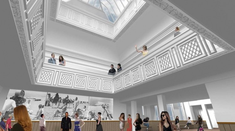 Artist's impression of the Creative and Future Gallery