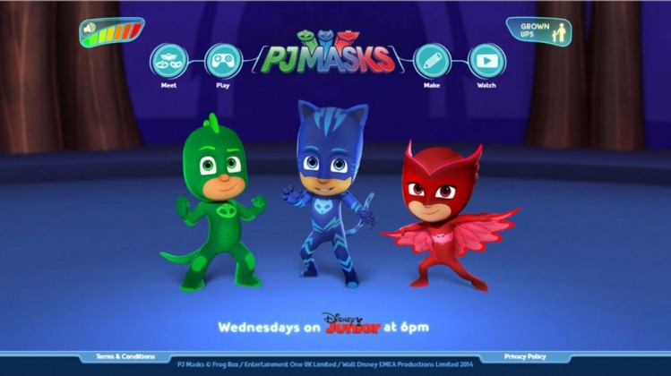 PJ Masks Official Website