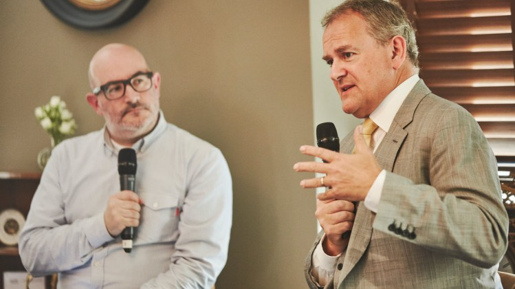 Event: Academy Circle with Hugh BonnevilleDate: Wednesday 20 June 2018Venue: Fortnum & Mason, Piccadilly, LondonHost: Boyd Hilton-Area: Q&A & Reception