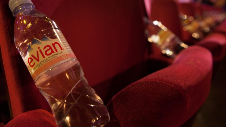 Royal Opera House Evian branding
