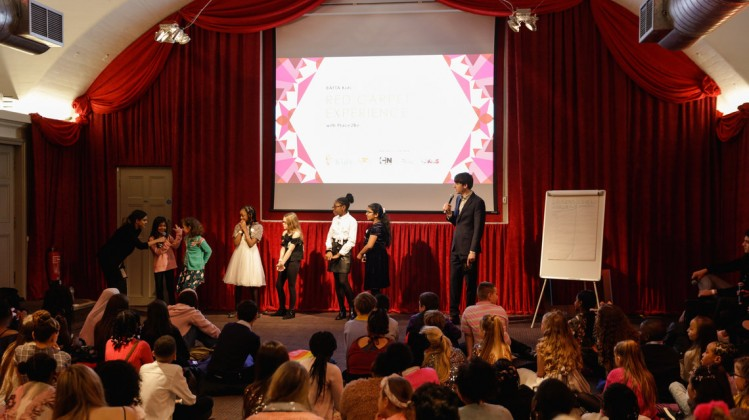 Event: British Academy Children's AwardsDate: Sunday 1 December 2019Venue: The Brewery, 52 Chiswell St, LondonHost: Lindsey Russell, Sam Homewood, Arielle Free, Ben Shires, Nigel Clarke & Maddie Moate-Area: BAFTA Kids Red Carpet Experience, hosted b