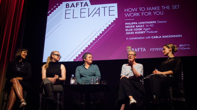 Event: BAFTA Elevate: Positioning Yourself for Success Date: 29 July 2017Venue: BAFTA, 195 Piccadilly-Area: How to Make the Set Work for You