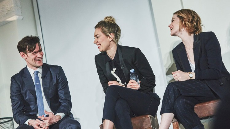 Headline: Academy Circle Q&A with the cast of The Crown Date: 20th March 2017Venue: 195 PiccadillyHosts: Edith Bowman-Category: Q&A