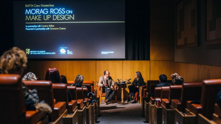 Event: BAFTA Crew Masterclass on Make up Design with Morag RossDate: Saturday 17 January 2015Venue: Grosvenor Cinema, GlasgowHost: Ian Haydn Smith (Editor of Curzon Magazine)