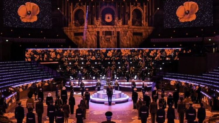 Festival of Remembrance 2020 at the Royal Albert Hall