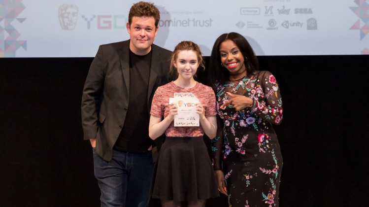 Event: BAFTA Young Game Designers AwardsDate: Saturday 8 July 2017Venue: BAFTA, 195 PiccadillyHosts: Dev Griffin & Georgie Barrat -Area: Individual Winners