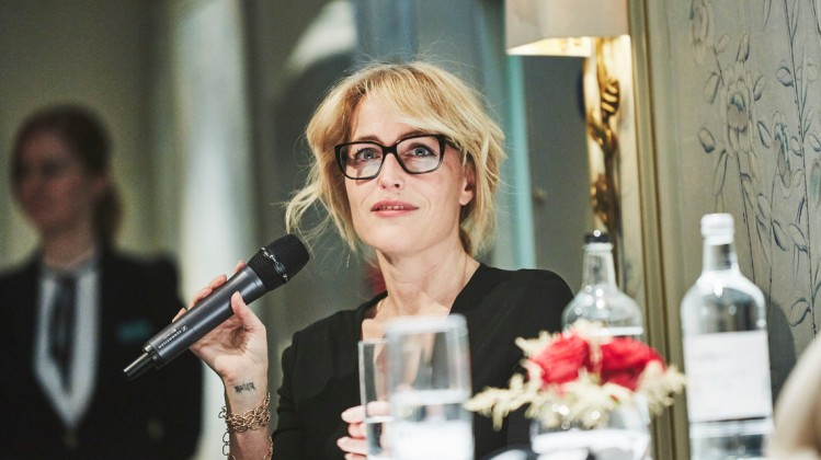 Headline: Academy Circle with Gillian AndersonDate: 29th November 2016Venue: Fortnum & MasonHosts: Tania Bryer