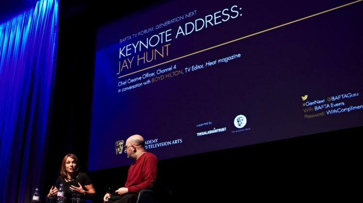 Keynote Address by Channel 4's Jay Hunt at BAFTA 195 Piccadilly