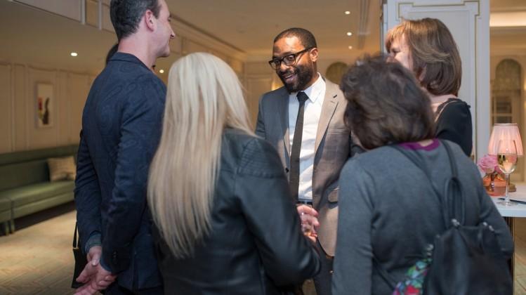 Event: Academy Circle with Chiwetel EjioforDate: Wednesday 17 January 2018Venue: Fortnum & Mason, Piccadilly, London Host: Mariayah Kaderbhai-Area: Reception