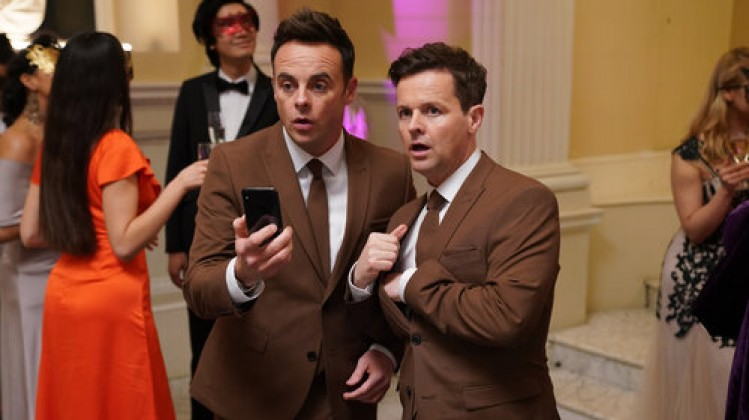 'Ant and Dec's Saturday Night Takeaway' TV Show, Series 16, Episode 5, UK - 21 Mar 2020