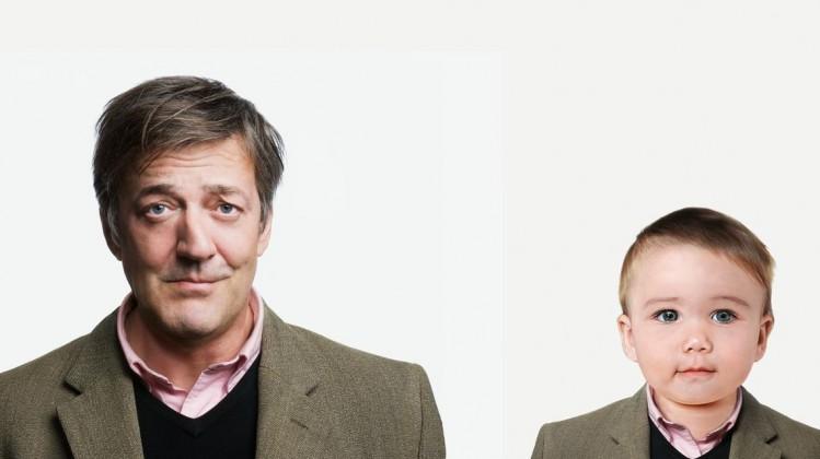 Evian / BAFTA Stephen Fry promotion