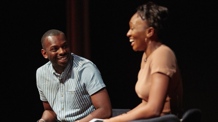Event: Kayode Ewumi Selects 'The Mask' Date: Saturday 13 May 2017Venue: BAFTA, 195 PiccadillyHost: Remel London-Area: Q&A