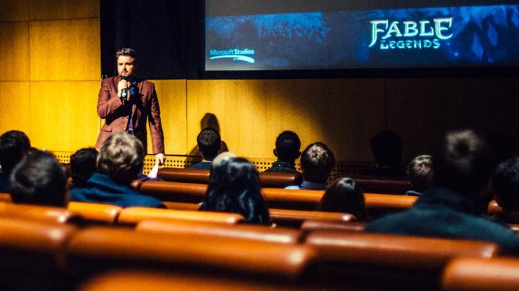 Event: BAFTA Crew Masterclass on Music and Sound Design in GamesDate: Saturday 24 January 2015Venue: Grosvenor Cinema, Glasgow