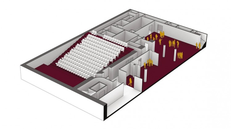 195 Piccadilly Axonometric Second Floor